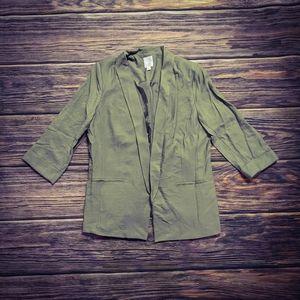 Lauren Conrad light green blazer